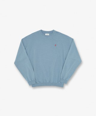 그라미치(gramicci) SWEAT SHIRTS SMOKY BLUE