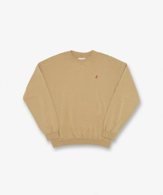 그라미치(gramicci) SWEAT SHIRTS BEIGE