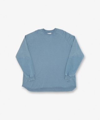 그라미치(gramicci) TALECUT SWEAT SMOKY BLUE