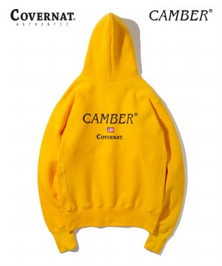 커버낫(covernat) COVERNAT X CAMBER HEAVYWEIGHT 12oz HOODIE GOLD