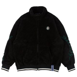 로맨틱크라운(romanticcrown) YETI ZIP UP JACKET_BLACK