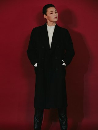 룬케이브(lunecave) 19 F/W WOOL COAT MEN