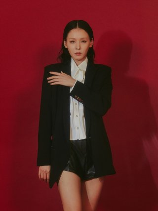 룬케이브(lunecave) 19 F/W  EMILY BLACK JACKET  WOMEN