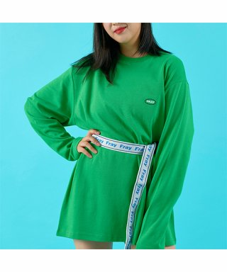 프레이(fray) OVAL LOGO LONG SLEEVE - GREEN