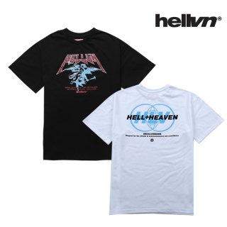 헬븐(hellvn) [세트 상품][패키지] HORN ANGEL + DECALCOMANIE T-Shirt - 5C