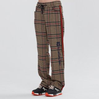 로맨틱크라운(romanticcrown) OLD CHECK SLACKS_BEIGE