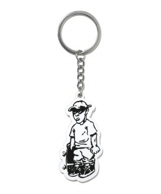 디스이즈네버댓(thisisneverthat) Skater Key Tag White