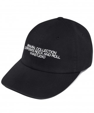 비바스튜디오(vivastudio) WASHED BALL CAP IA [BLACK]