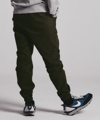 스테이지 네임(stagename) Dart jogger pants_KHAKI BROWN