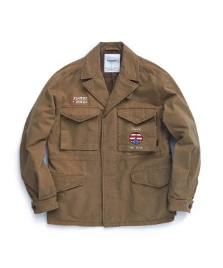 에스피오나지(espionage) Alex M-43 Field Jacket Tan