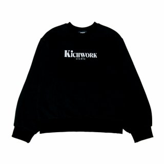 키치워크(kichwork) 19 Studio Sweatshirt_Black