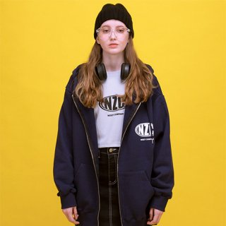 노이지컴퍼니(noizycompany) NZC Zip Up Hood (Navy)