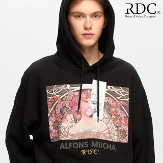알디씨(rdc) 950g ATTRACTION BLACK-HEAVY HOODIE
