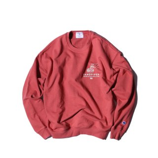 샌드파이퍼(sandpiper) ASH TRAY SWEAT SHIRTS FADE BURGUNDY