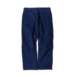 샌드파이퍼(sandpiper) STONE WASHED COTTON PANTS AMERICAN BLUE