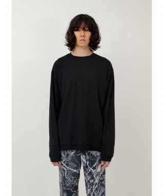 가쿠로() Psyche L/S T-Shirt (Black)