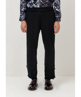 가쿠로() Deconstructed Sweat Pants (Black)