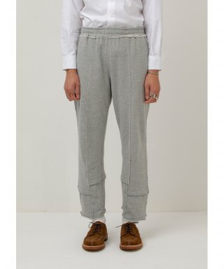 가쿠로() Deconstructed Sweat Pants (Grey)