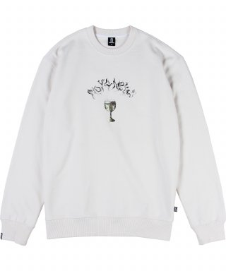 낫포너드(not4nerd) Holy Grail Crewneck Ivory