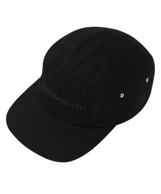 유스포유스(youthforyouth) basic logo campcap (black)