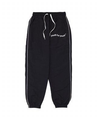 유스포유스(youthforyouth) side line pants (black)