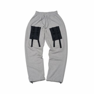 필이너프(feelenuff) [FEELXZERO] WEBBING SWEATPANTS (GRAY)