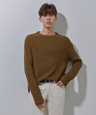 에이본(theabon) YS basic over knit khaki