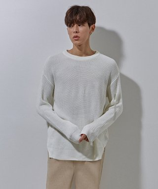 에이본(theabon) YS basic over knit white
