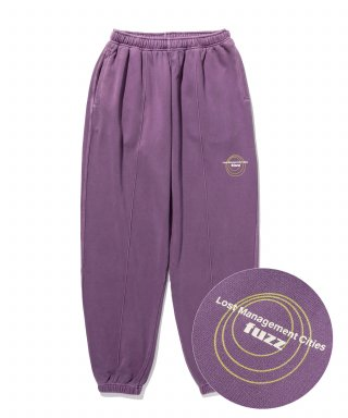 엘엠씨(lmc) LMC x FUZZ CIRCLE SWEAT PANTS purple