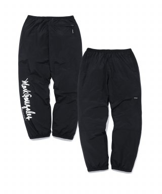 마크 곤잘레스(markgonzales) M/G SIDE LOGO STORM PANTS BLACK