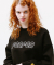 BOUCLE LOGO POINT SWEATSHIRT BLACK