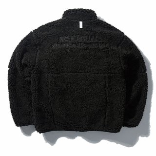 노매뉴얼(nomanual) NM BOA FLEECE JACKET - BLACK