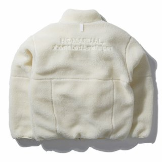 노매뉴얼(nomanual) NM BOA FLEECE JACKET - IVORY