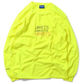라파예트(lafayette) KEEP SMILING L/S TEE SAFETY GREEN