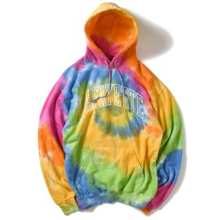 라파예트(lafayette) ARCH LOGO TIE DYED HOODED SWEATSHIRT MULTI