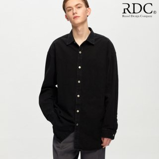 알디씨(rdc) RDC BLACK DENIM SHIRTS