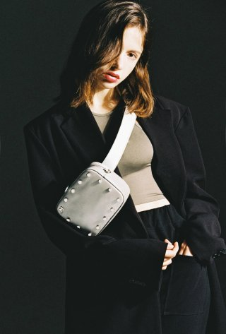 제이마크뉴욕(jmarknewyork) Jane belt bag - Silver