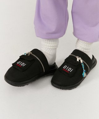 5252 바이 오아이오아이(5252byoioi) POCKET MULE SLIPPERS_black