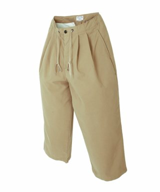 아웃스탠딩(outstanding) WIDE COMFORT PANTS [BEIGE]