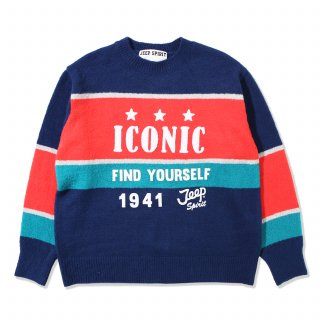 지프(jeep) ICONIC Colorful Knit (JK4KTU002NA)