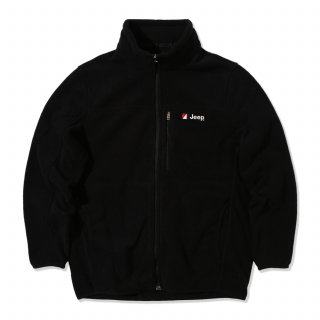 지프(jeep) Half Neck Fleece Zip-Up (GK4TZU191BK)