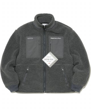 디스이즈네버댓(thisisneverthat) GORE-TEX® INFINIUM™ Explorer Fleece Jacket Charcoal