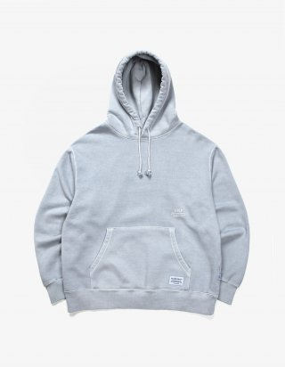 아이졸라(izola) Over Dyed Hoodie - Powder Blue