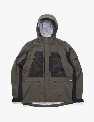 아이졸라(izola) 3 Layer Mountain Parka - Olive