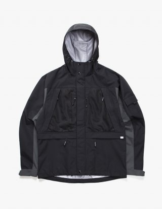 아이졸라(izola) 3 Layer Mountain Parka - Black