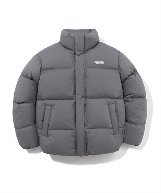 스컬프터(sculptor) COVERNAT X SCULPTOR 19A/W HUNGARY GOOSE DOWN 007 SHORT PUFFER GRAY