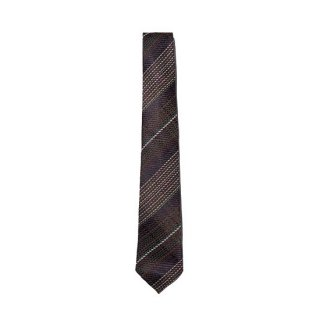 커스텀멜로우(customellow) cross check pattern tie_CAAIX19526WIX