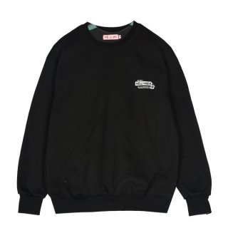 헬븐(hellvn) Tape Hlv SweatShirt (SHHHV-6014) - Black
