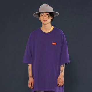 위빠남(ouipaname) LOGO T SHIRT (PURPLE)