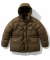 19fw shelter down parka brown